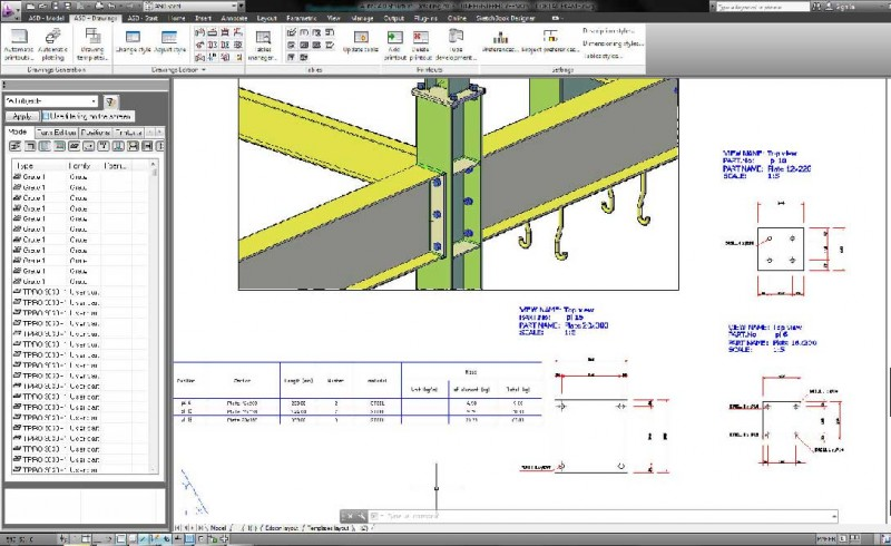 crack autocad structural detailing 2015