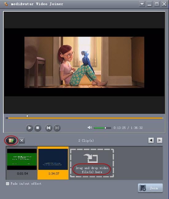 Desjardins incorporated video joiner