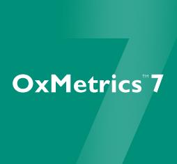 OxMetrics 7.2 Enterprise Edition