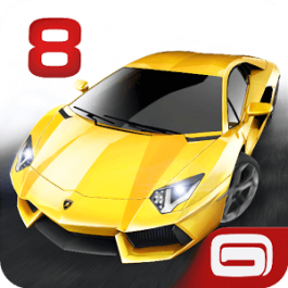 Asphalt 8 Airborne v3.0.0l [Mod Free Shopping] for Android +2.3