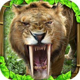 Sabertooth Tiger Simulator 1.0 for Android +2.3