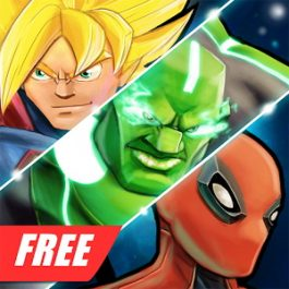 Superheroes Free Fighting Games 2.1 for Android +2.3