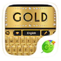 Gold GO Keyboard Theme 1.85.5.83 for Android +2.3.2