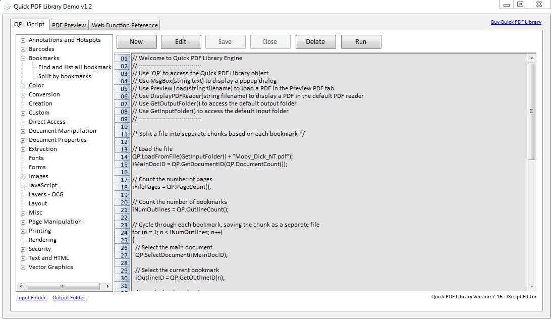 Quick PDF Library