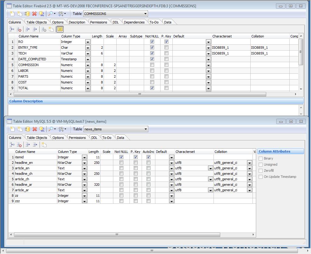 Database Workbench