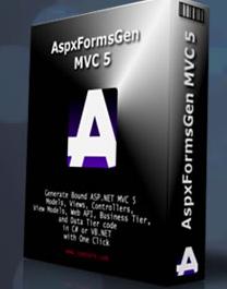 AspxFormsGen MVC 5 Professional Plus Edition 1.3.0.2 Retail