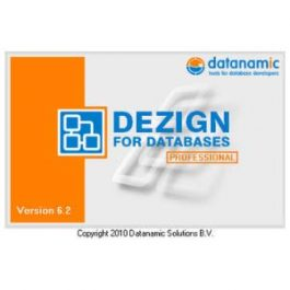 Datanamic DeZign For Databases Professional 8.1.2