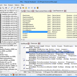 Pascal Analyzer 7.3.0.0 Delphi 5 - XE7