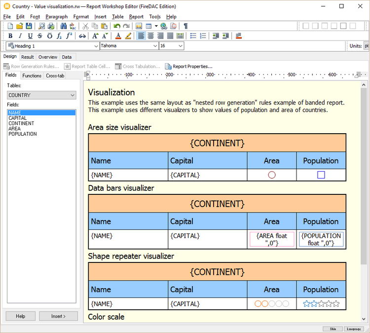 Report Workshop