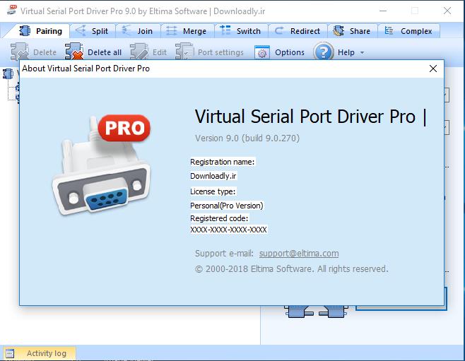 Virtual Serial Port Driver