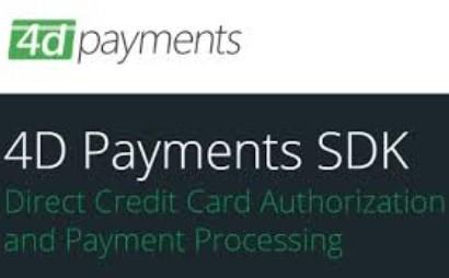 4D Payments SDK 16.0 Build 6213 for Delphi/.NET/ActiveX/Xamarin
