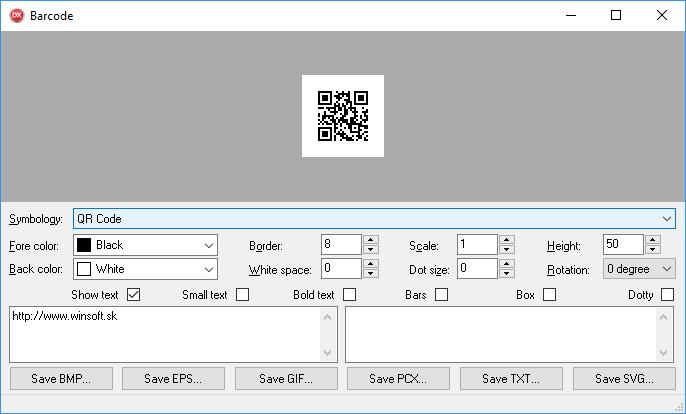 WINSOFT Barcode