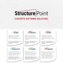 StructurePoint Concrete Software Solutions 2 2018-04-13