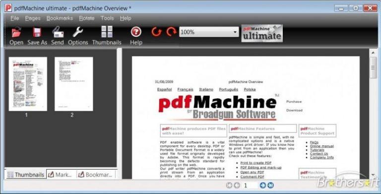 pdf machine