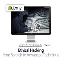 Udemy - Ethical Hacking from Scratch to Advanced Technique