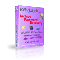 KRyLack Archive Password Recovery 3.70.69