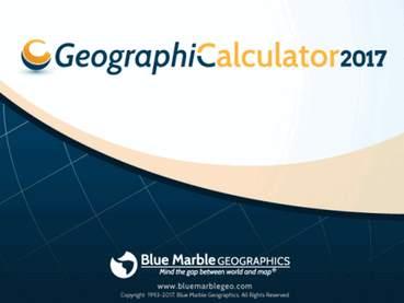 Geographic Calculator 2017 Build 180417 x86/x64