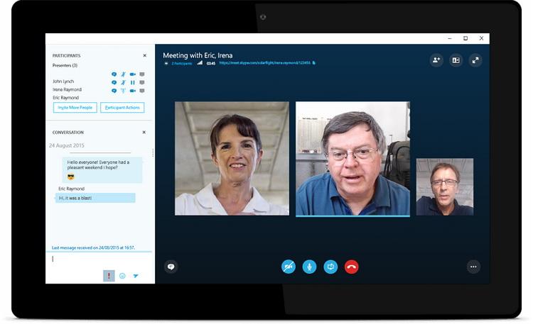 Skype的