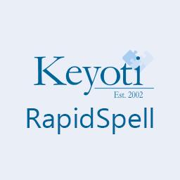 Keyoti RapidSpell Desktop .NET 6.0 / Silverlight 2.0 / WPF 3.1