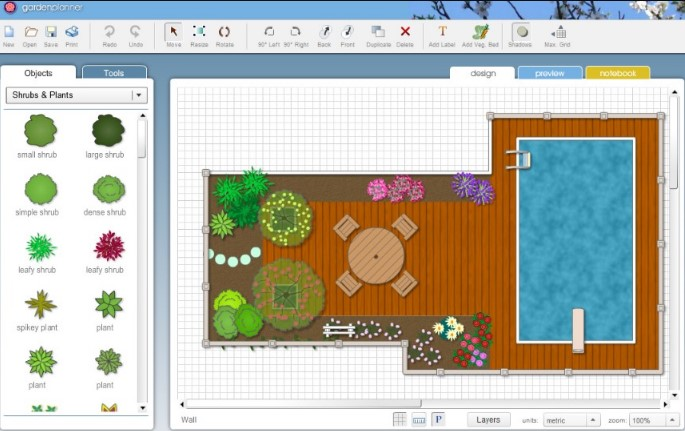 Artifact interactive garden planner 3 portable for Garden planner 3