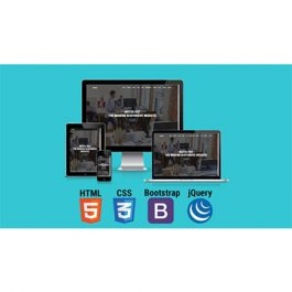 Udemy - Build Modern Responsive Website With HTML5, CSS3 & Bootstrap 2017-8