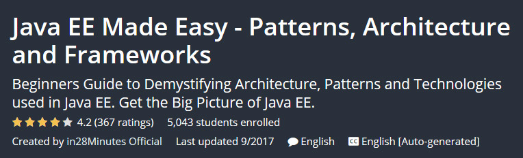 Java EE Made Easy