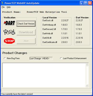 PowerTCP Web Enterprise Tool for ActiveX