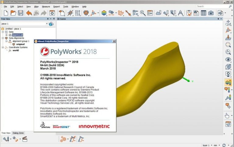 PolyWorks Metrology Suite