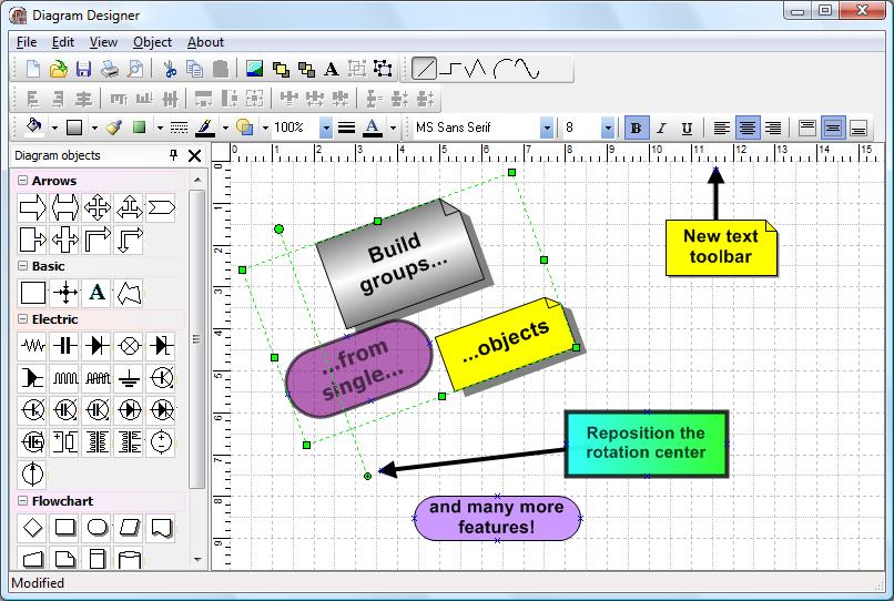 TMS Diagram Studio