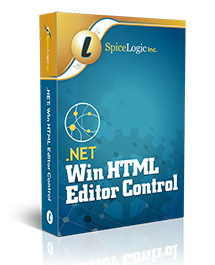 Spicelogic .NET WinForms HTML Editor Control 7.4.11.0
