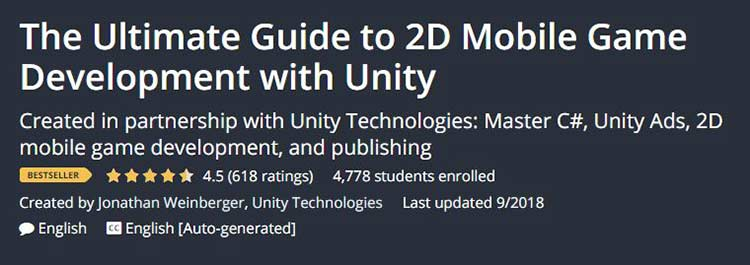The Ultimate Guide to 2D Mobile Game Development with Unity