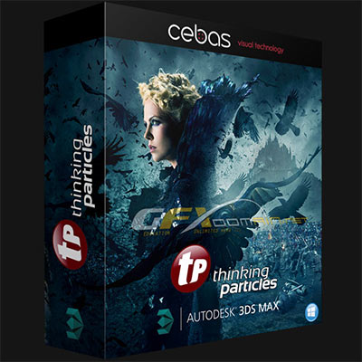 cebas thinkingParticles 6.6.0.134 for 3ds Max 2018 x64