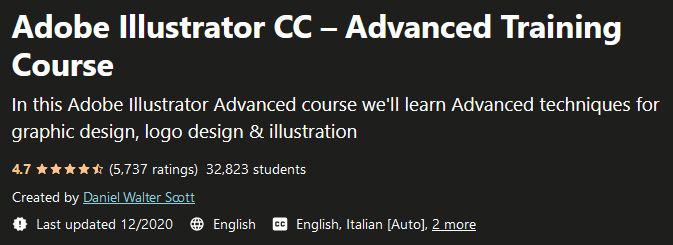 Adobe Illustrator CC - Advanced Training Course