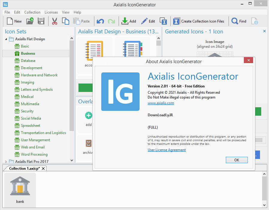 Axialis IconGenerator screenshot