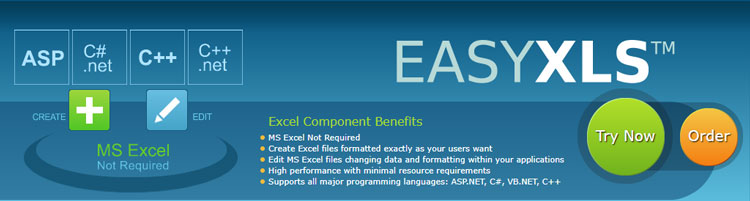 EasyXLS Professional Excel Library