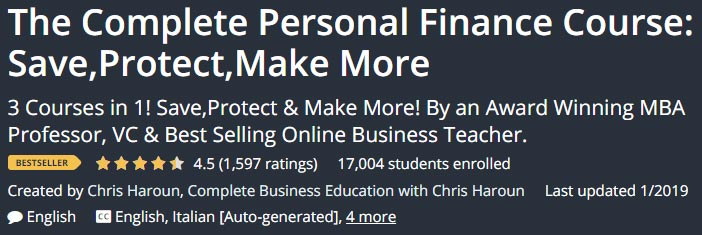 The Complete Personal Finance Course