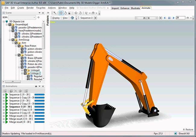 3D Visual Enterprise Author