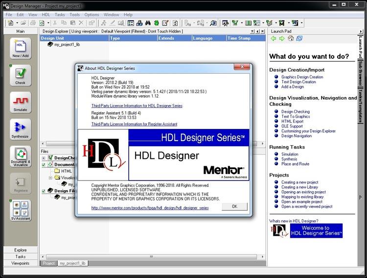 Mentor Graphics HDL Designer
