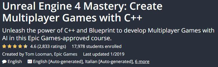 Unreal Engine 4 Mastery