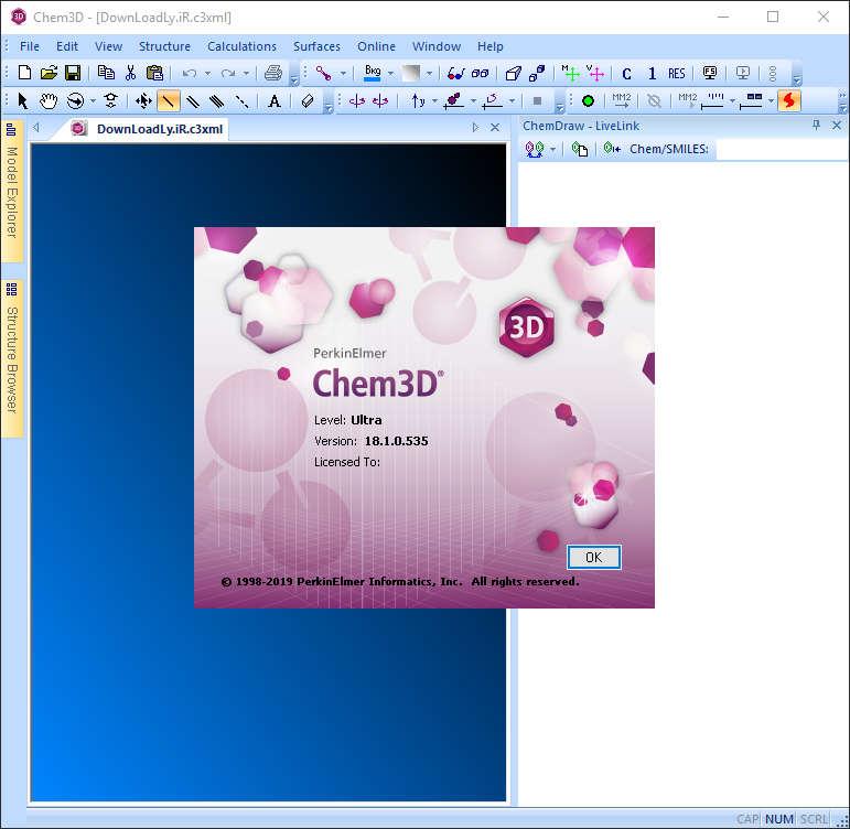 برنامج PerkinElmer ChemOffice Suite 2019 Chem3D.jpg