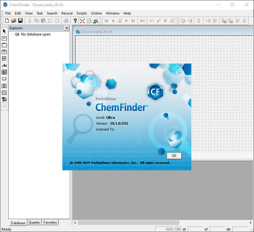 برنامج PerkinElmer ChemOffice Suite 2019 ChemFinder.jpg