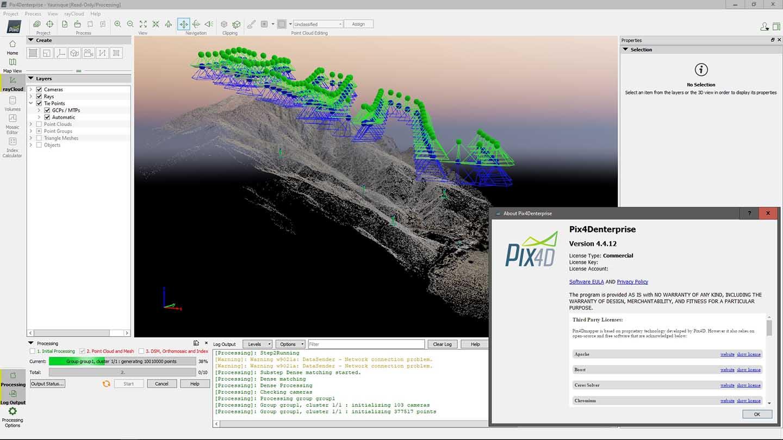 Pix4Dmapper screenshot