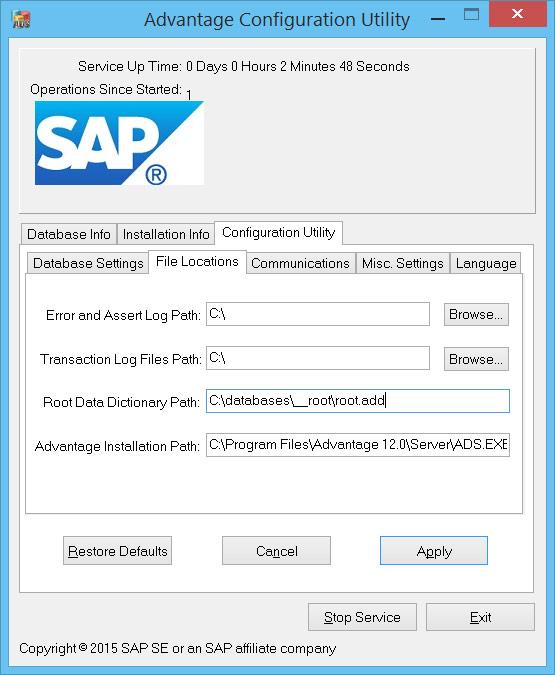 SAP Advantage Database Server