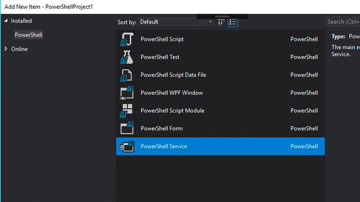 PowerShell Pro Tools for Visual Studio