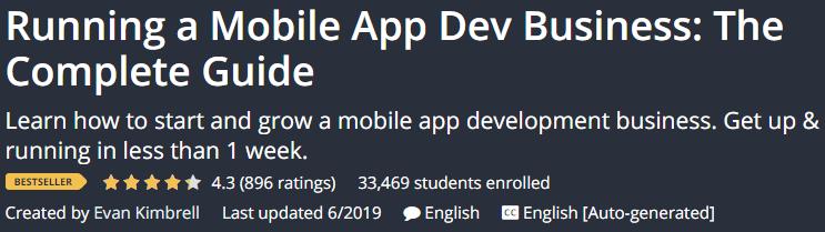 Running a Mobile App Dev Business