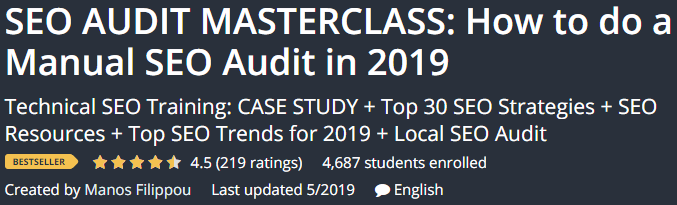 SEO AUDIT MASTERCLASS: How to do an SEO Audit Manual in 2019