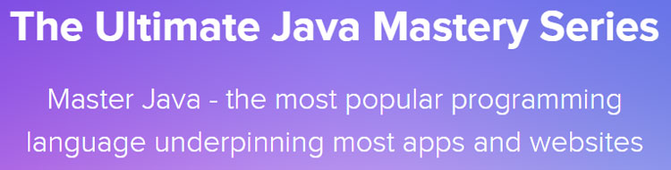 The Ultimate Java Mastery Series