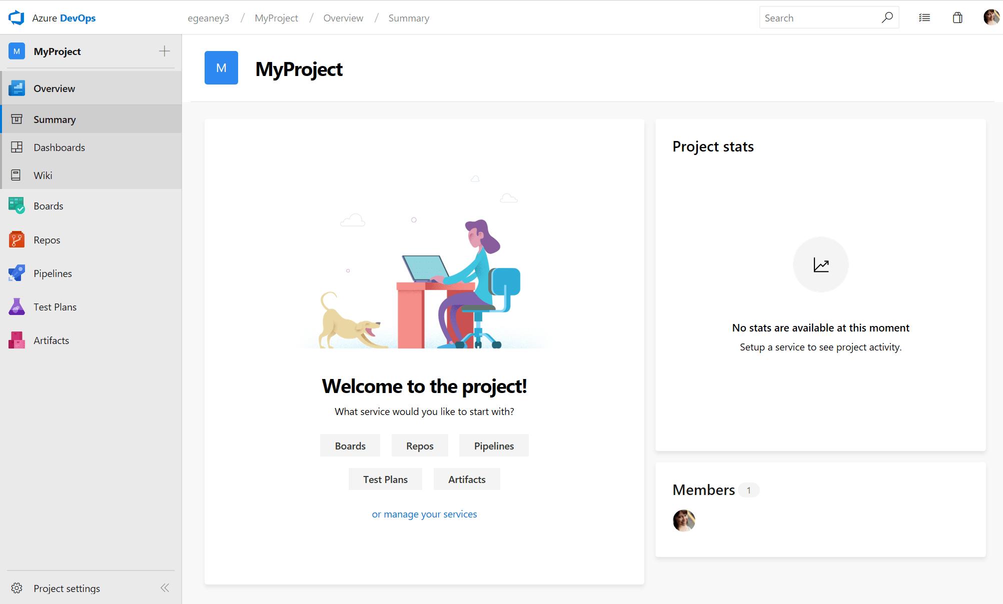 Azure DevOps Server screenshot