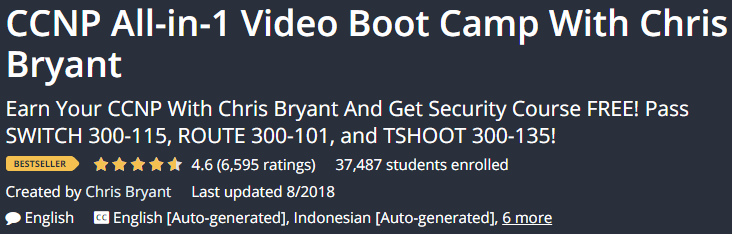 CCNP All-in-1 Video Boot Camp With Chris Bryant