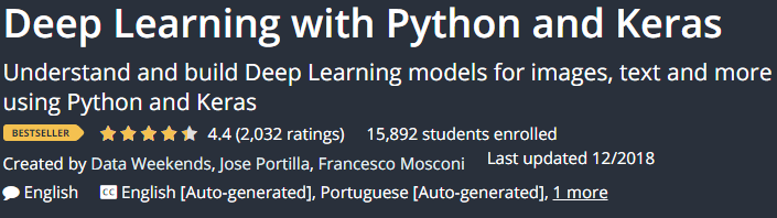 Deep Learning with Python and Keras